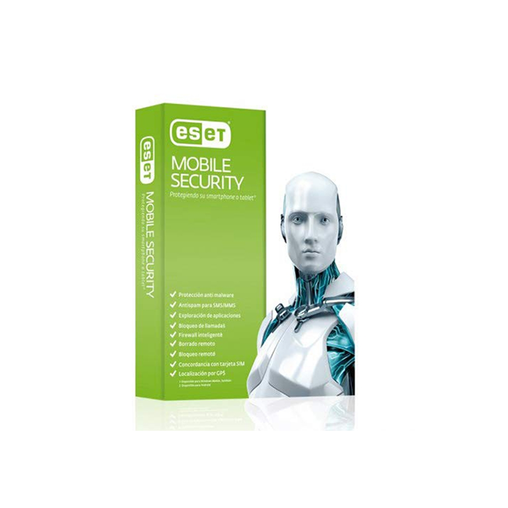 ESET Mobile Security - 1 User, 1 Year License - Android